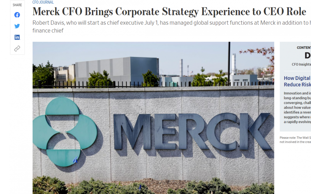 3D Group President Quoted in WSJ Article on CFO to CEO Transitions